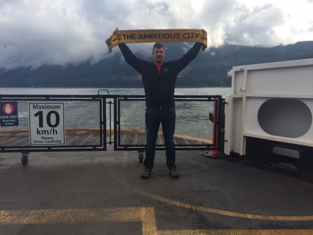 Ferry to Bowen Island, BC