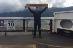 Ferry to Bowen Island, BC